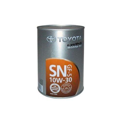 トヨタ自動車 トヨタ キャッスルモーターオイル SN GF-5 10W30 1L 08880-10806