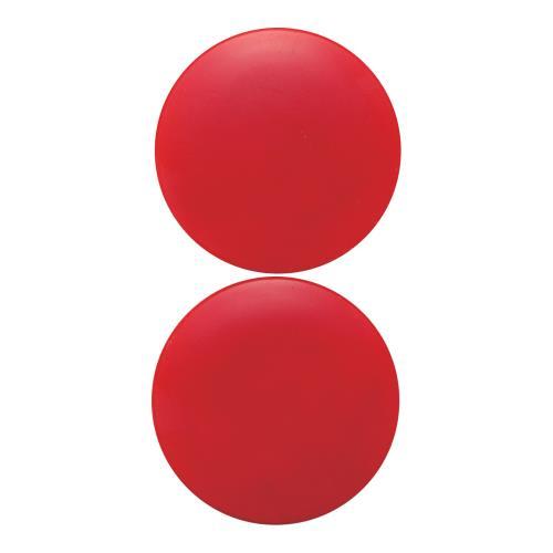 BeHAUS カラーマグネット 丸40 赤 丸40赤