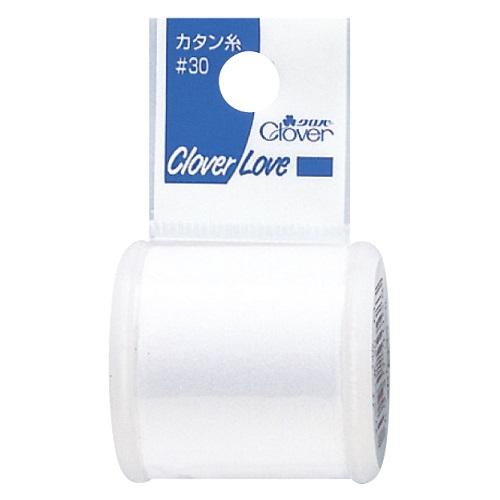 クロバー カタン糸 30 白 200m