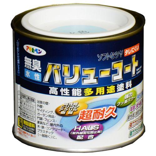 アサヒペン 水性バリューコート 1/5L 水色