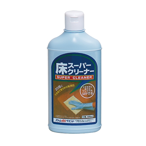 アトムサポート アトムハウスペイント 床スーパークリーナー 樹脂ワックスリムーバー