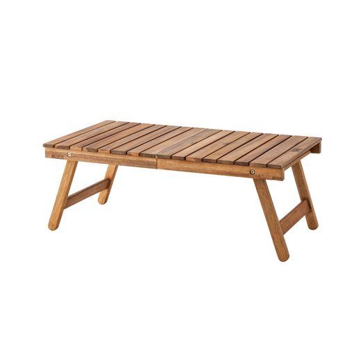 東谷 フォールディングテーブル 折りたたみ式 幅730×奥行400×高さ280mm NX-514