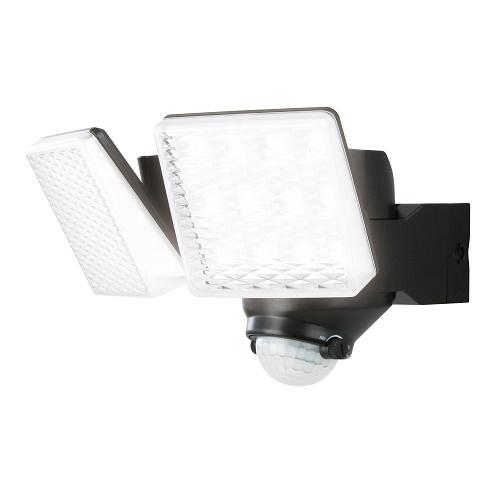 DAISHIN LEDソーラーセンサーライト2灯式