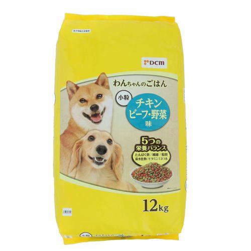 ドッグフード/12kg チキン・ビーフ・野菜味 小粒