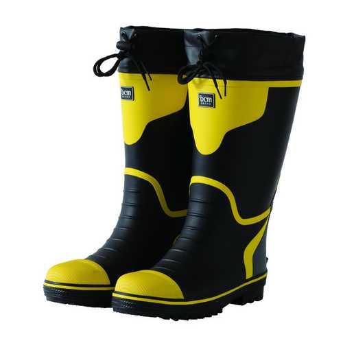 防寒長靴 セーフティ 24.5-25cm 19AW DCMブランド 防寒紳士長靴 24.5 ...