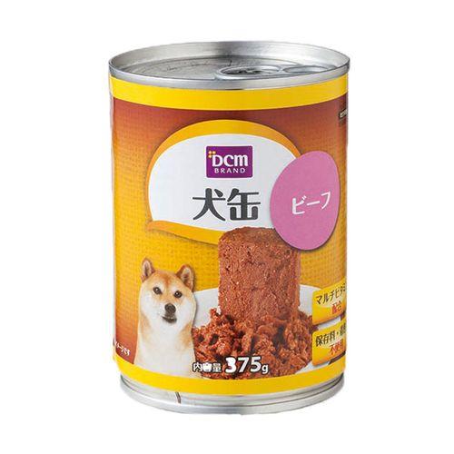 DCM 犬缶 全年齢用 375g ビーフ