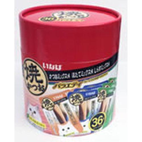焼かつお 成猫用 バラエティパック 36本
