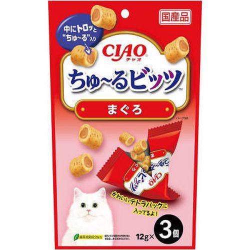 チャオ ちゅ〜るビッツ まぐろ 12gx3袋 製品画像
