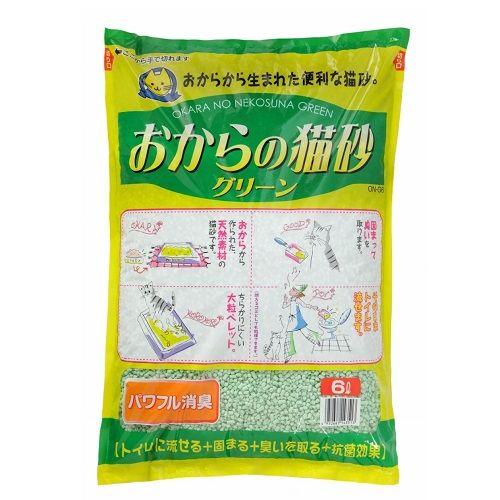 おからの猫砂 グリーン 6L