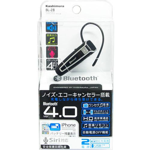 【クリックで詳細表示】株式会社カシムラBluetooth4.0イヤホンマイク BL28 カナル式