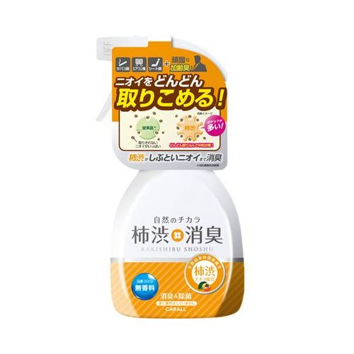 オカモト カーオール 柿渋消臭ミスト 無香料 50ml
