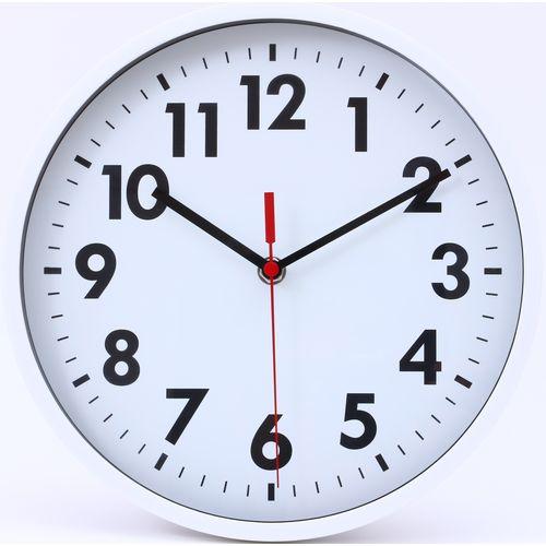 壁掛け時計 ミーナ/53586 ホワイト