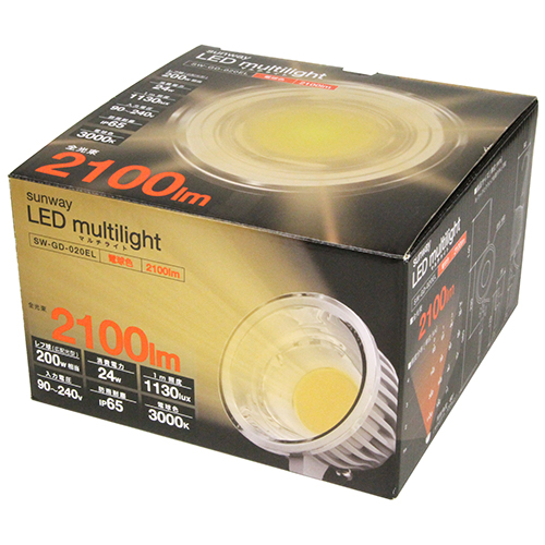 LED�}���`���C�g�@�d���FSW-GD-020EL