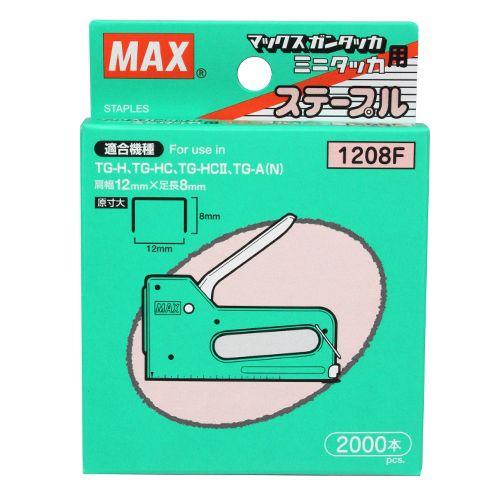 マックス 針タッカタイプ 2000本MS92 1208F