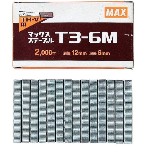 MAX タッカ替刃10箱入り T3-6M [8053]