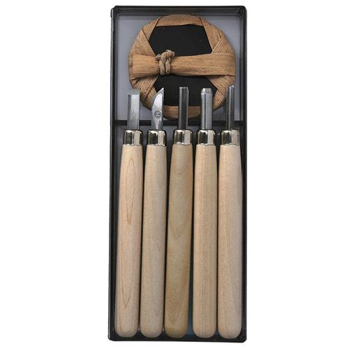 マルイチ彫刻刀 Rー5 プラケース5本組 3セット 1セット5本組 直送品
