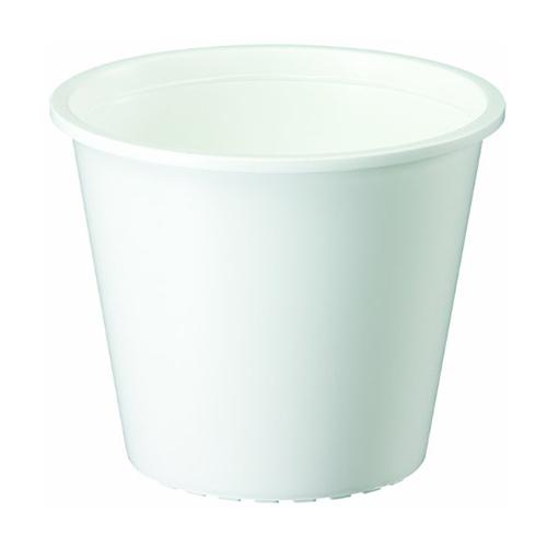 ヤマト プラ鉢3号 0.3L ホワイト