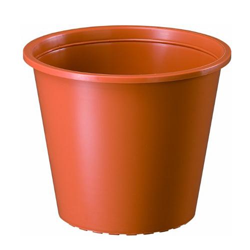 ヤマト プラ鉢 0.3L ブラウン