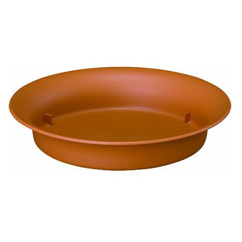 鉢皿ノア 9号 φ270×H50 ブラウン