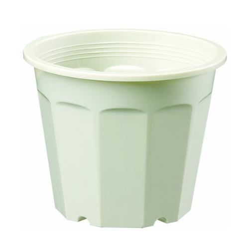 ヤマト 花鉢4号 0.5L クリーム