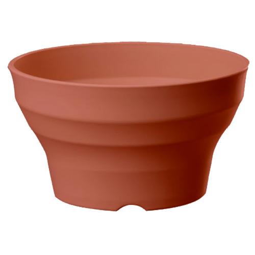 鉢・プランター フレグラーボール 24型 φ240×H140 ブラウン