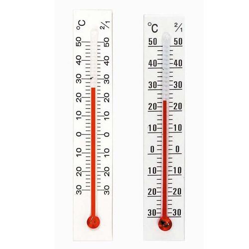 クレセル クレセル 園芸用 温度計 タテ1本ヨコ1本セット DP-7S