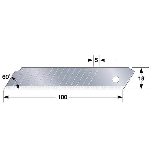 タジマ カッター替刃硬刃ダブル CB‐50D