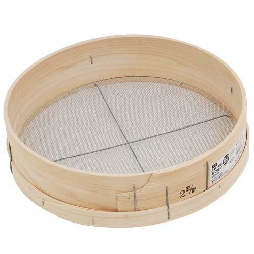 千吉木製砂フルイ(丸型)35cm
