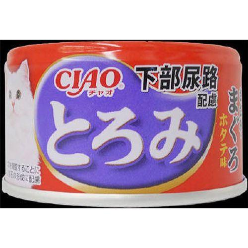 チャオ とろみ 下部尿路配慮 ささみ・まぐろ ホタテ味 80g