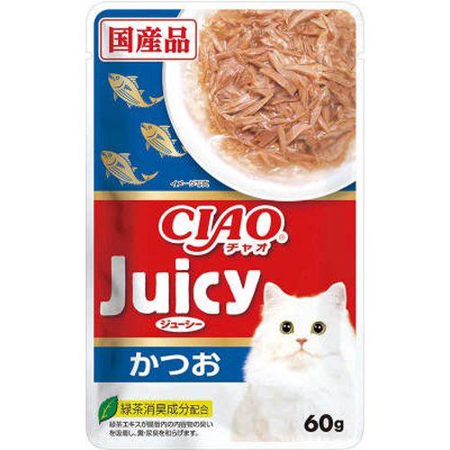 チャオ Juicy かつお 60g