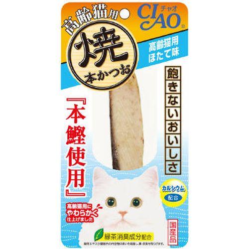チャオ 焼本かつお 高齢猫用 ほたて味 1本