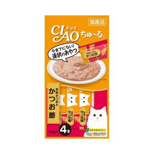 チャオ ちゅ〜る 宗田かつお&かつお節 14gx4本