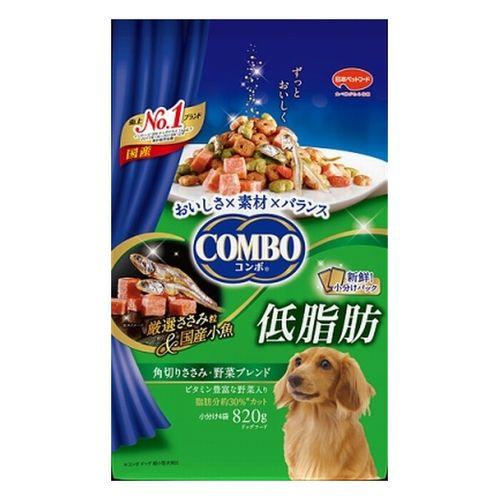 コンボ ドッグ 低脂肪 角切りささみ・野菜ブレンド 820g