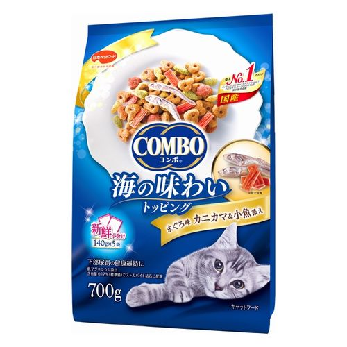 コンボ キャット まぐろ味・カニカマ・小魚添え 700g