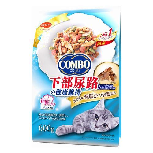 コンボ キャット 猫下部尿路の健康維持 600g(120gx5)