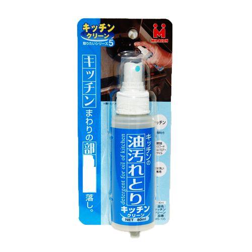 日本ミラコン産業 キッチンクリーン MS-105 80ml [1058]
