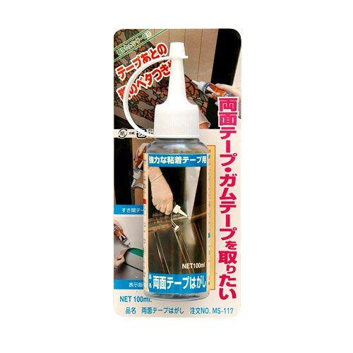 日本ミラコン産業 両面テープはがし MS-117 100ml