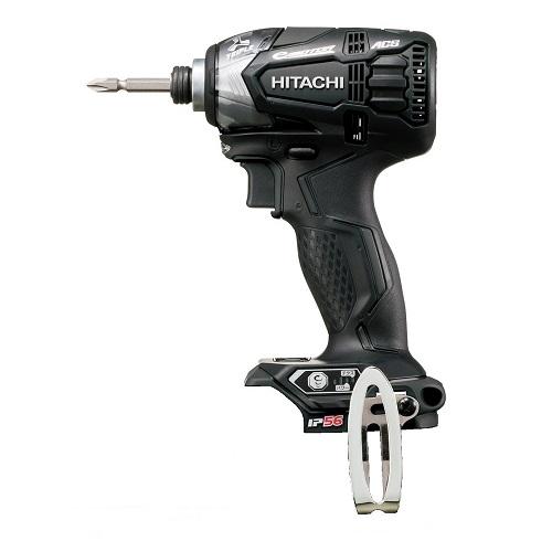 日立工機 ハイコーキ Koki 14.4V コードレスインパクトドライバー 充電式 ブラック 蓄電池 充電器別売り WH14DDL2 NN 本体のみ