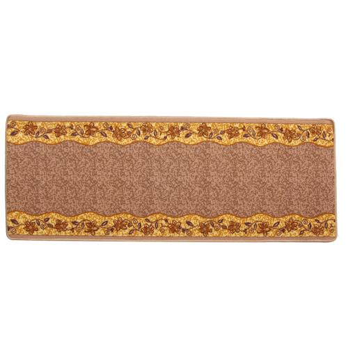 イケヒコ 廊下敷 ナイロン100% 『リーガ』 ベージュ 約67×180cm 滑りにくい加工 1枚