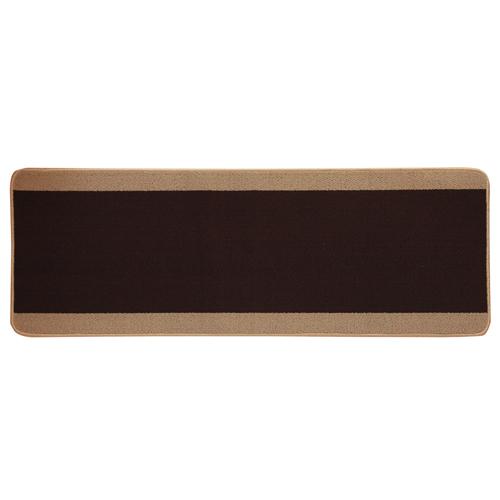 イケヒコ キッチンマット 『ピレーネ』 ブラウン 約67×180cm 2025210 1枚