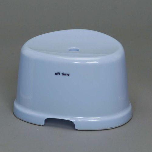 風呂椅子 座面21㎝ ブルー OBI-210