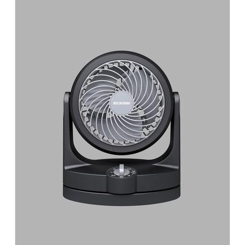 アイリスオーヤマ コンパクトサーキュレーター 首振りタイプ 黒 PCF-HD15-B(271086)