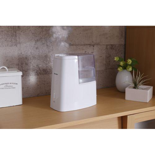 アロマ対応加熱式加湿器 容量1.9L 加湿量260ml/h クリア SHM-260D-C(272048)