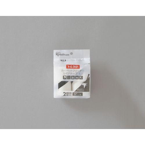 アイリスオーヤマ トルクルカーペットクリーナースペアテープミニ2Pななめカット CCNS-2MN ホワイト