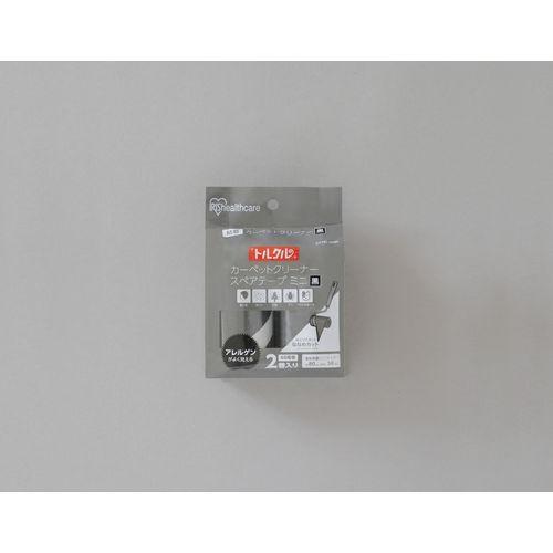 アイリスオーヤマ トルクルカーペットクリーナースペアテープミニ2Pななめカット CCNS-2MN ブラック