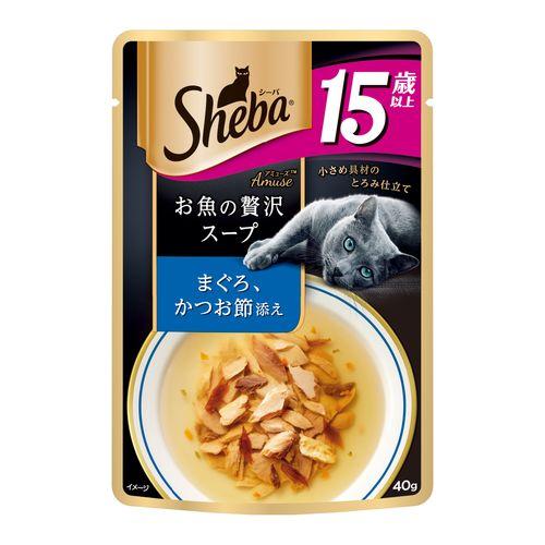 シーバ アミューズ 15歳以上 お魚の贅沢スープ まぐろ、かつお節添え 40g
