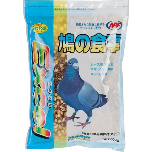 ナチュラルペットフーズ エクセル 鳩の食事 600g