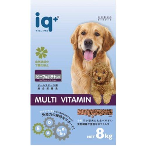 犬ドライビーフ&ポテト/8kg