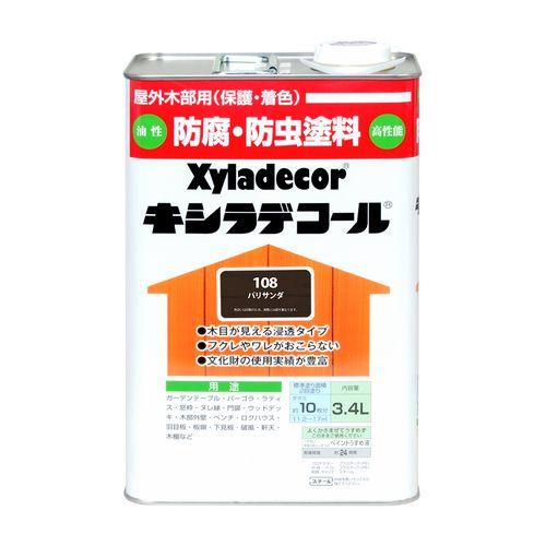 大阪ガスケミカル キシラデコール 3.4L