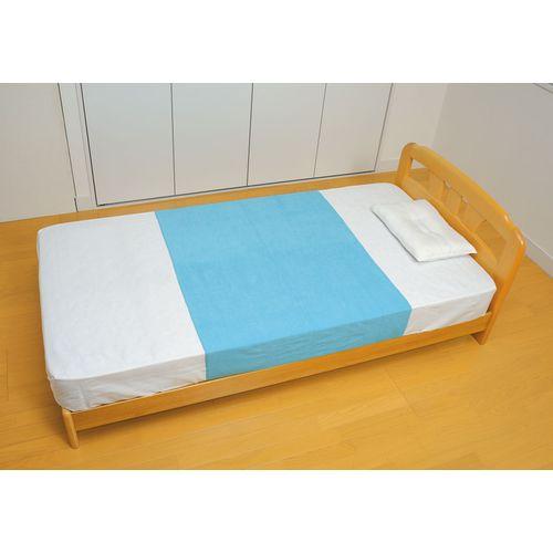 テイコブ 防水シーツ 幅145×長さ90cm ブルー SE01 1枚